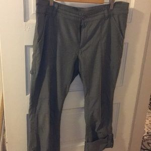 Columbia pants light army green comfy & quick dry